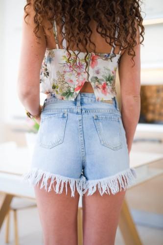 d78ed05ddf5d31 Z487 Seksowne damskie spodenki jeansowe krótkie szarpane szorty rozmiar xs  s m l xl
